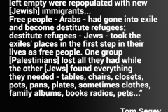 Tom Segev on the Nakba