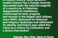 Salman Abu Sitta on the Nakba